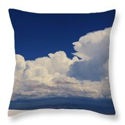 Summer Storms Over The Mountains 4 Throw Pillow
