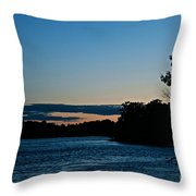Summer Sundown Throw Pillow