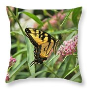Summer's Flying Tiger  Throw Pillow