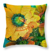 Summers Soup Throw Pillow