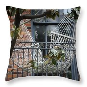 Summertime Livin' In The Big Easy Throw Pillow