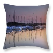 Summertime Sailing Throw Pillow