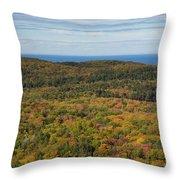 Summit Peak Autumn 13 Throw Pillow