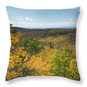 Summit Peak Autumn 16 Throw Pillow