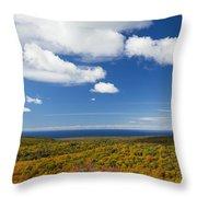 Summit Peak Autumn 8 Throw Pillow