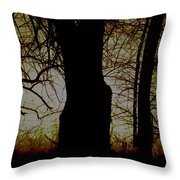 Sun - Sunrise - Breaking Dawn Throw Pillow