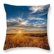 Sun Enchanted Evening I Throw Pillow