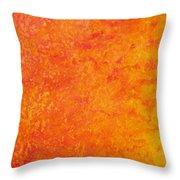 Sun Energy Throw Pillow