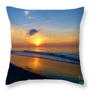 Sun Kissed Throw Pillow