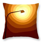 Sun-light Throw Pillow
