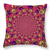 Sun Pattern Throw Pillow
