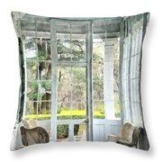 Sun Porch Throw Pillow