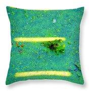 Sun Spots Throw Pillow by Art Dingo