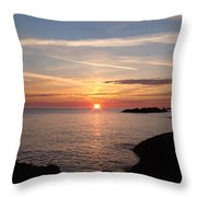 Sun Up On The Up Throw Pillow