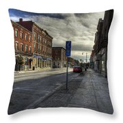 Sunday Afternoon Cannon Practice Throw Pillow