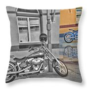 Sunday At The Pub Throw Pillow