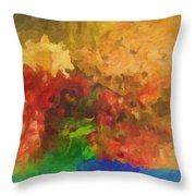 Sunday Picnic Throw Pillow