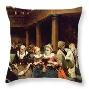 Sunday School Class  Throw Pillow