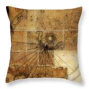 Sundial 1 Throw Pillow