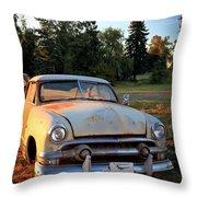 Sundown Chevy Throw Pillow