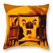Sundown Chimayo Throw Pillow