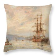 Sundown Throw Pillow