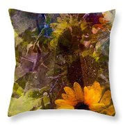Sunflower 12 Throw Pillow