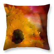 Sunflower 14 Throw Pillow
