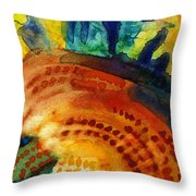 Sunflower Head 3 Throw Pillow