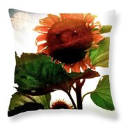 The Business Of Bees Throw Pillow