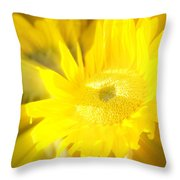 Sunflower Magic Throw Pillow