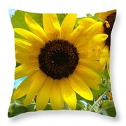 Sunflower Medley Throw Pillow