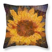 Sunflower Season Throw Pillow
