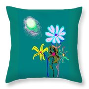 Sunflower Two Throw Pillow