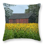 Sunflowers 8 Throw Pillow