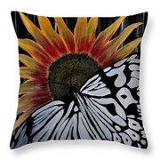 Sunfly Throw Pillow