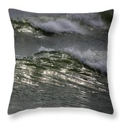 Sunlight And Waves 1 Throw Pillow