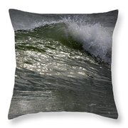 Sunlight And Waves 2 Throw Pillow