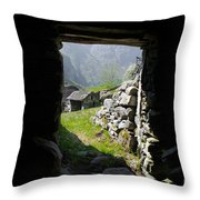 Sunlight Coming In Throw Pillow