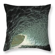 Sunlight Shines Into The Opening Of An Throw Pillow