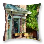Sunny Afternoon New Castle De Throw Pillow