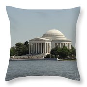 Sunny Jefferson Throw Pillow