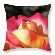 Sunny Opening Throw Pillow