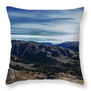 Sunol-flag Hill Throw Pillow