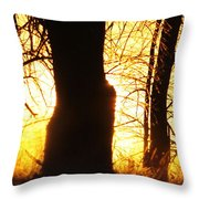 Sunrise - Country Sunrise Throw Pillow