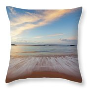 Sunrise At Cove Park Throw Pillow