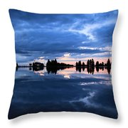 Sunrise At Lake Tahoe Throw Pillow