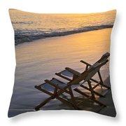 Sunrise At Lanikai Throw Pillow