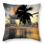 Sunrise At Sea 3 Throw Pillow