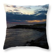 Sunrise At The Edge Throw Pillow